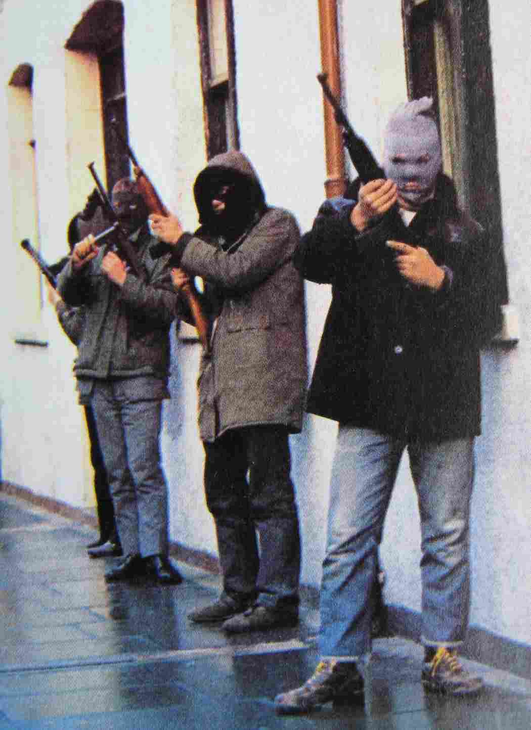 Irish Republican Army Posters Derry ira patrol
